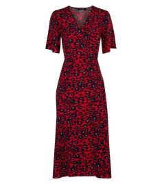 red-animal-print-midi-wrap-dress-
